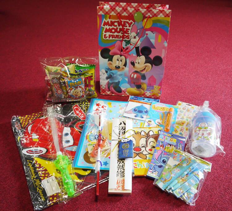1万円の授与品例