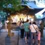 八坂神社例大祭 参拝者からの質問