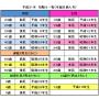 平成31年・令和元年 厄除け・方位除け表